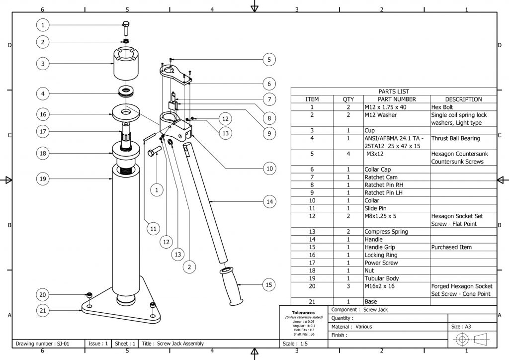 engineering drawing services